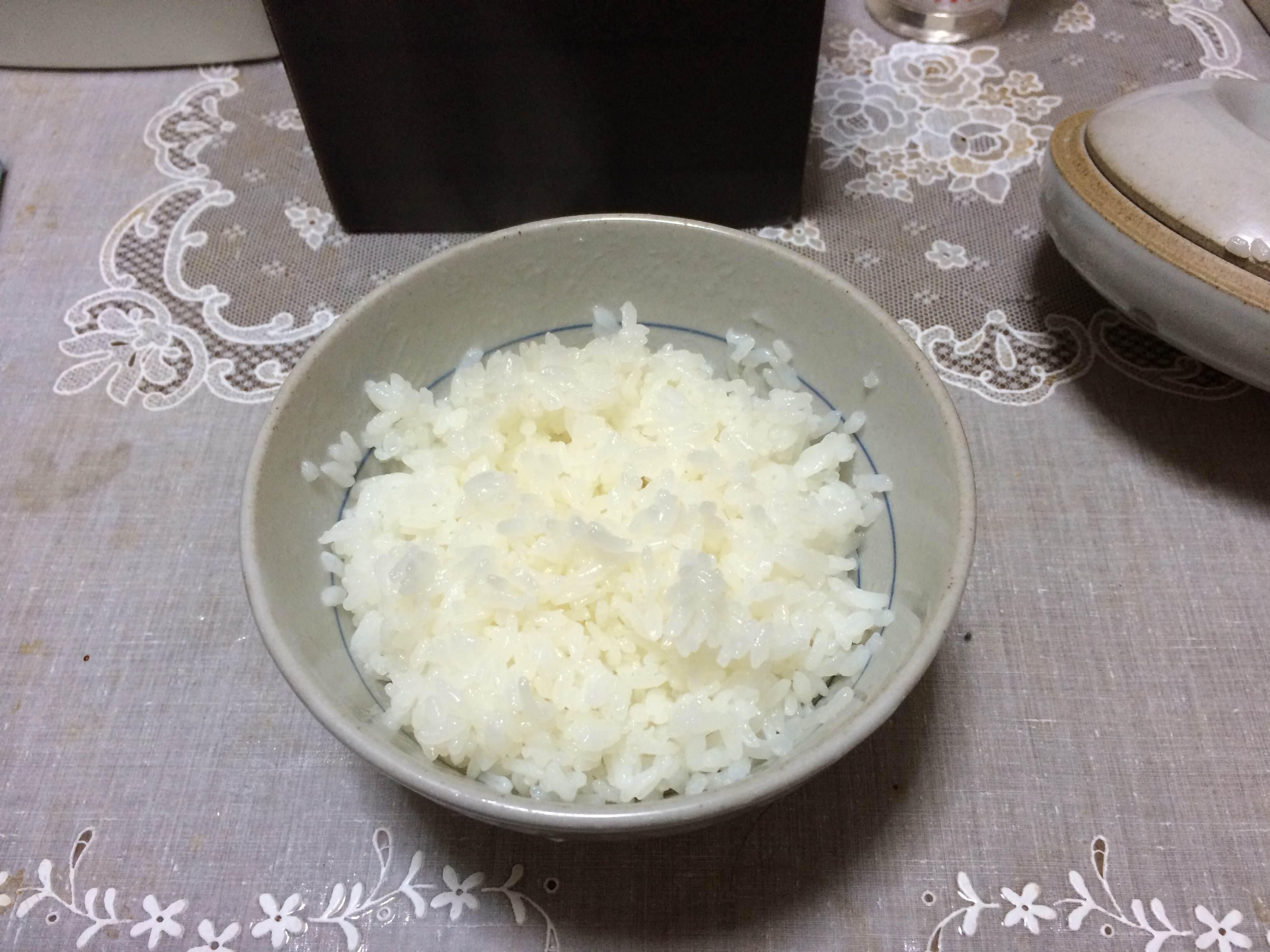 毎回炊きたてのご飯を!!
