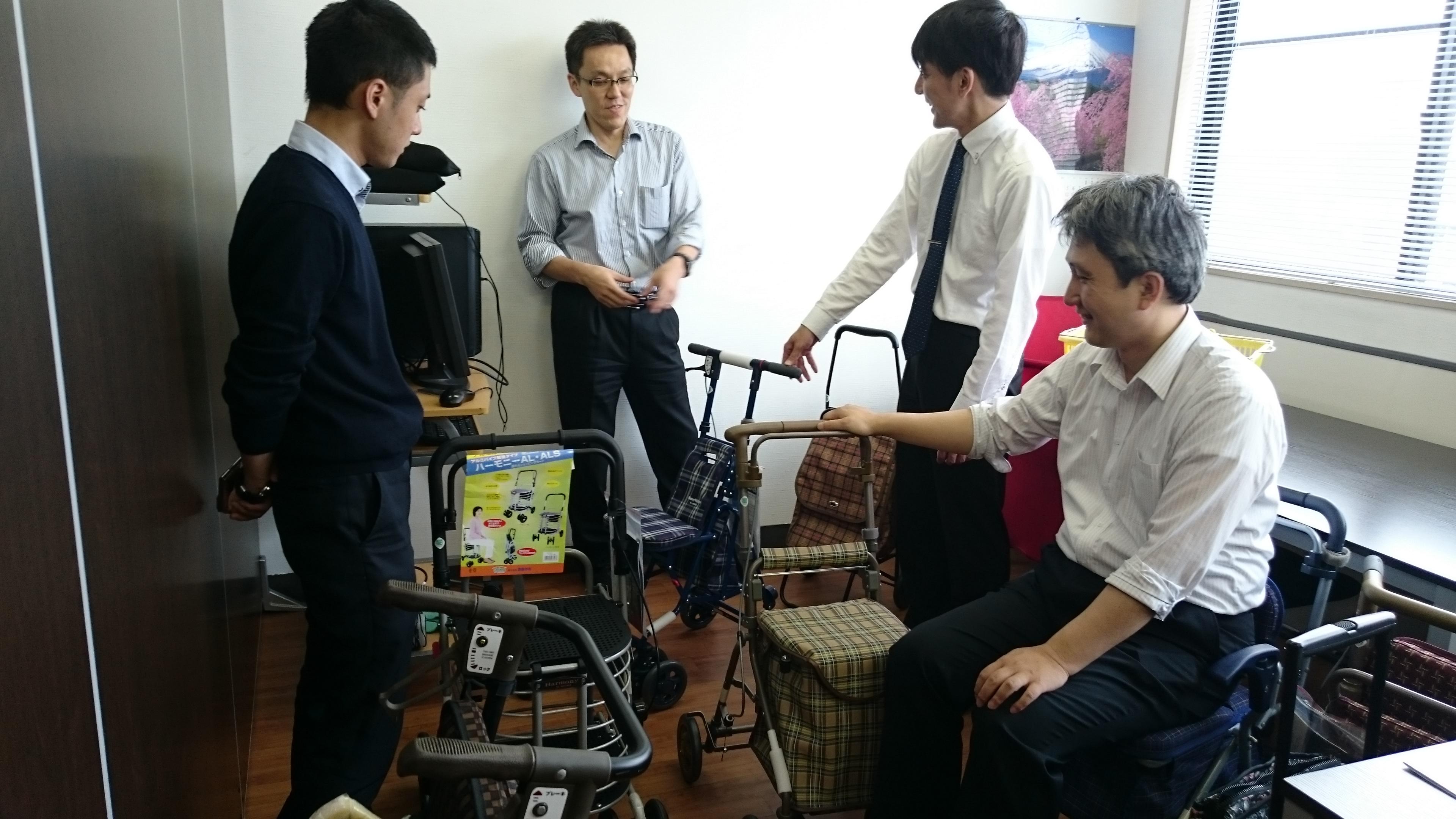 大手シルバーカーメーカー 島製作所さんの参加・協力決定!