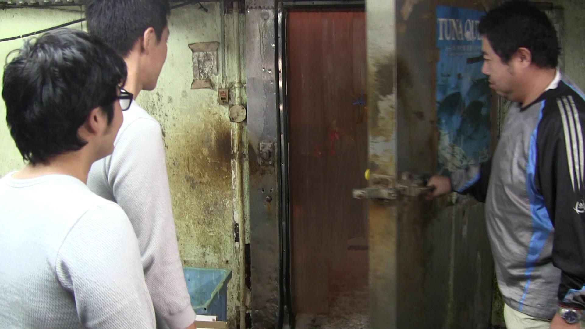あったか肌着「ひだまり」in冷凍庫