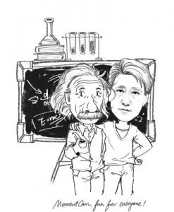アインシュタイン先生と♪